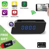 HD 1080P WiFi Clock Cameras Mini DV Alarm Desk DVR Security Nanny WIFI IP Cameras Cam for Home Office