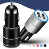Car Charger Mini Dual USB Car Charger Adapter 3.1A Double USB 2-Port For Samsung Galaxy S4 S5 IPhone 8 X 7 Plus No Packge
