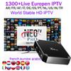 x96mini 1G with NEOTV 1Year European Arabic IPTV Account subscription Euro French Germany Turkish African live channels for android 7.1 box
