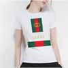 2018 designer fashion fashion T-shirt shirt casual graffiti lovely lady T-shirt cute printed T-shirt
