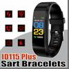 5 Color LCD Screen ID115 Plus Smart Bracelet Fitness Tracker Pedometer Watch Band Heart Rate Blood Pressure Monitor Smart Wristband S-SH