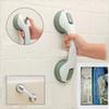 Handgrip helping handle suction cup grab bar Non-slip Safety Glass Door Handle Child Elderly Bathroom NICE Color with retail box
