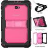 hybrid combo shockproof rubber rugged layers shoulder strap Protective case case shell for Samsung Galaxy Tab A 10.1 T580 T585