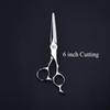 6 Inch 440C Japan Professional Hairdressing Scissors Shears Set Barber Hairdressing Scissors Hair Scissors Tools For Barber Shop
