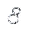 8 Fonts Double Stainless Steel Penis Ring Prevent Erection Sex Toys Products For Men Penis Ring Cockrings Male Chastity Device