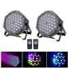 36 LED Par Lights Stage Lighting RGB LED Up Wash Light with Remote and DMX Control for Disco DJ Party Wedding Club Show