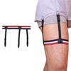 1 Pair Business Suspenders Punk Mens Striped Shirt Stays Garters Braces Gentleman Leg Elastic Holder Adult