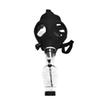 Silicone Mask Pipe Bong Creative Mask Acrylic Smoking Pipe Gas Mask acrylic bongs Pipes free shipping