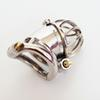 New 3D design Stainless Steel Stealth Lock Small Male Chastity Devices,Cock Cage,Penis Ring,Penis Lock,Fetish Chastity Belt For Men