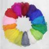 100 pcs 12-14inch white black red orange yellow royal blue purple turquoise hot pink green ivory ostrich feather plume z134