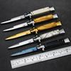 Hot Camping Survival Tactical Knife Folding Blade Knife Hardened 440 56HRC Combat Pocket Hunting Knives Outdoor edc defense Multitool