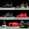 Wholesale NMD R1 Primeknit PK Men Running Shoes High Quality Triple Red Black Yellow Green Brown NMD Runner Primeknit Sneakers Sports Shoes
