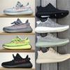 Mens Shoes Blue Tint 350 V2 V1 Sneakers Moonrock Black Size 13 Womens Sport Casual 2018 Running Shoes for Men Zebre Oreo Bred
