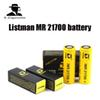 Original Listman MR 21700 battery 3.7V 60A 3800mAh Li-ion Rechargeable Battery Electronic cigarette battery for Electric Tool   Headlamp