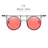 C4 Siyah Çerçeve Kırmızı Lens