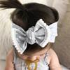 INS Baby Girls Headbands Bowknot Dot hairband Kids Knotted Bow Elastic Cotton Head bands Children Infant Hair Accessories Headwear KHA562