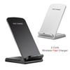 QI Fast Wireless Charger Pad For iPhone X 8 8 Plus 10W 3 Coils Qi Wireless Charging For Samsung Galaxy Note 8 S8 S7 S6 Edge
