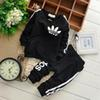Brand Baby Boy Clothing Suits Autumn Casual Baby Girl Clothes Sets Children Suit Sweatshirts+Sports pants Spring Kids Set 1set  2pcs