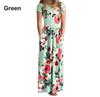 1 to 8 years baby Girls summer floral Long Dresses, Fashion Bohemian clothes, Beach clothes, Kids boutique clothing, retail, R1AA806DS-06