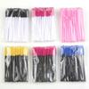 Tamax MW001 50Pack Disposable Eyelash Mascara Brushes Wands Applicator Makeup Brush Kits Pink Dropship acceptable full in stock