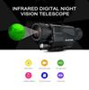 2018-SUNCORE 5 x 40 Infrared Digital Night Vision Telescope High Magnification with Video Output Function Hunting Monocular 200m View