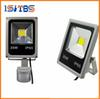 LED Flood Lights With Sensor 10W 20W 30W 50W Motion Sensor Floodlights Pir Induction Reflector Outdoor Spotlights