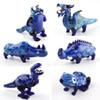 Glass Smoking Pipes Dinosaur Oil Burner Pipes Tobacco Pipe Portable Animal Hand Pipe Wholesale Latest Lovely Smoking Glass Pipes
