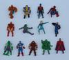 The Avengers Mini Action Figures Gashapon Capsule Toys Superhero Spiderman Iron Captain Mini Figures Children Christmas Gifts Twisting Toys