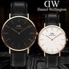 2019 Women Men Watch Quartz Luxury Brand Lovers' Watches Leather Rose Gold Wrist Watch Male Clock female Ladies watches Women Wristwatches