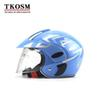 TKOSM Children's Motocross Motorcycle Motor Helmet Winter Warm Comfortable Motos Protective Safety Helmets For Kid 3~9 Years Old
