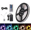 RGB Led Strips 5M 300 Leds SMD 5050 RGB lights led strips 60 leds M 24Key IR Remote Controller 12V 5A power supply