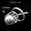 B - 40mm ring