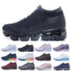 New Vapormax Running Shoes Men Women Classic Outdoor Run Shoes Vapor Black White Sport Shock Jogging Walking Hiking Sports Athletic Sneakers