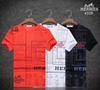 #1803 Luxury Designer T Shirts Mens Summer Fashion Tide High Quality Letter Face Print Casual Men T Shirt Tops Tees