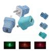 LED Wall Charger Crack Style Glowing USB Adapter Plug AC Travel Home Charging Charging Power Adapters for iphone Samsung