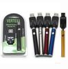 Vertex LAW LO VV Battery Charger Kit 350mAh CO2 Oil Preheat Battery E Cigarettes Vape Pen Fit 510 Atomizers Cookies Cartridges 3 Packagings
