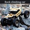 Kids 3color PVC Rc Car 1 .3kg 4ch 4wd Rock Crawlers 4x4 Driving Car Double Motors Bigfoot Remote Control Model Off -Road Vehicle Toy