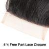 4*4 Free Part Lace Closure