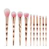 JIEFUXIN Makeup Brushes set 10pcs 7pcs Thread Rainbow Professional Make Up Brush Blending Powder Foundation Eyebrow Eye Contour Brush