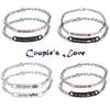 2018 set Bracelets His Queen Her King His Beauty Her Beast Prince Princess Crown Couple pair Bangle Fashion Jewelry Gift