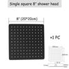 Square 8 Zoll