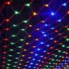 1.5mX1.5m 96 LED Net Mesh Fairy String Light 8 display modes Window Curtain Festival Christmas new year wedding Fairy Light