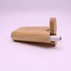 Classical wood dugout smoking pipe 7.7cm tall Pocket Dugout Pipe with bat pipe 55mm One Hitter Pipes