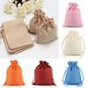 New Burlap Jute Gifts Bags For Christmas Plain Vintage Wedding Xmas Party Favor Candy Gift Package Wrap Bags WX9-748