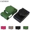 CAENBOO RX100 M3 M4 M5 Camera Bag Soft Silicone Rubber Protective Body Cover Case Skin For  RX100 III IV V RX100IV RX100V