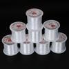 White Multi-size Stretch Fish Line Wire Nylon String Beading Cord Thread for Jewelry Necklace Making Accessories