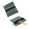 GOLF tees bag Natural wooden golf tees wooden 75pcs with a Nylon bag holder and a case