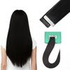 Remy Tape in Hair Extensions 16 inch - 24 inch Skin Weft Human Hair Straight 20pcs set Many Colour