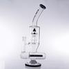 Glass bong New cool 18mm colorful big Smoking Water percolator Pipe tall dab Glass oil rig glass bong free ship