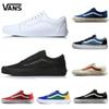 2018 New Athentic wans Classic Old Skool Canvas Mens Skateboard Designer Sports Running Shoes for Men Sneakers Women Casual Trainers